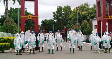 Zoomlion Begins Disinfection Of Military Barracks, Educational Facilities In Volta, Oti Regions