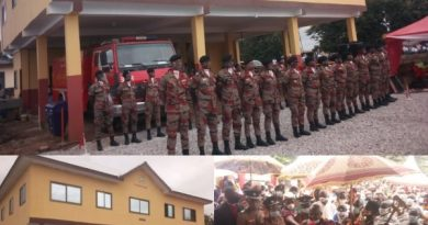 Abesim Gets Fire Station