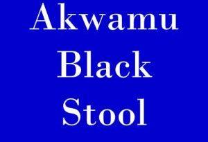 Akwamu Black Stool is for the Great Ansah Sasraku from Yaa Ansaa Royal Family – Late Odeneho Kwafo Akoto II