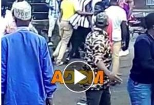 Breaking News: Gun Shot At Kasoa A Registration Centre; NDC Agent Sustains Injury [Watch Video]