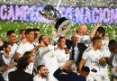 Campeones! Real Madrid celebrate La Liga title success in style