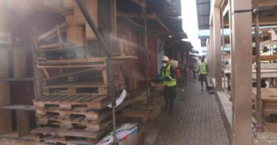 COVID-19 Fight: Volta Region Markets,Lorry Parks And Others Fumigated, Disinfected