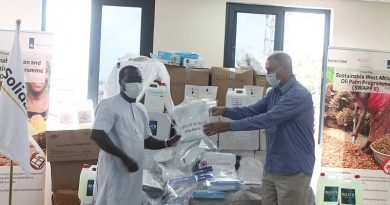 COVID-19: Netherlands Embassy Presents PPE To Solidaridad