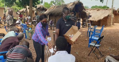 COVID-19: Tain DCE Takes Sensitization To Rural Communities