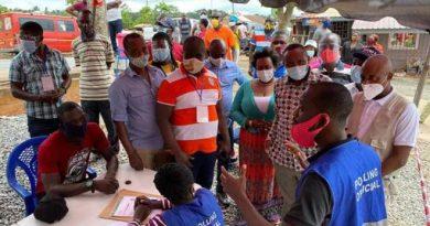 Eastern Region: John Boadu Visits Voter Registration Centres