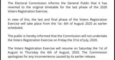 EC Suspends Voter Registration On Friday Over Eid-ul-Adha Celebration