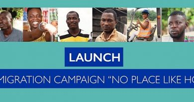 "Gov't, IOM, & EU Launch ""No Place Like Home"" Nationwide Campaign On Safe Migration"