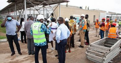 Health Minister Impressed With Work On Nearly-Complete Infectious Disease Centre