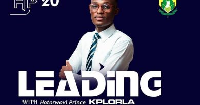 Meet Hotorwovi Prince Kplorla, Aspiring UHAS Federal SRC President