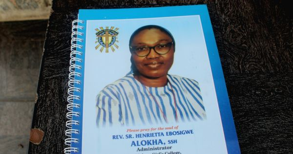 Nigerian Air Force honors sister who sacrificed her life to rescue students – Global Sisters Report