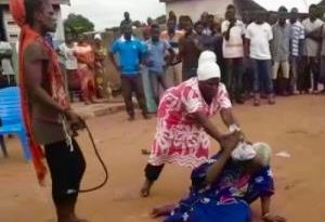 Old Woman Accused Of Witchcraft Lynched
