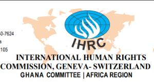 Public Notice And Disclaimer From International Human Rights Commission, Ghana