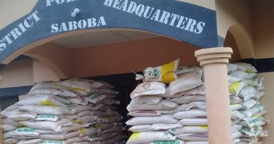 Saboba: 1,000 Bags Of Smuggled Fertilizers Intercepted