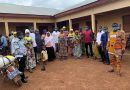 Tolon NPP Mandeiya Youth Distributes Over 1000 Nose Mask To Constituents