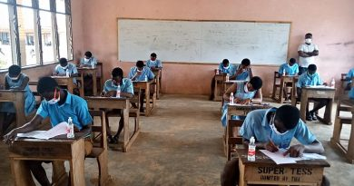 1,563 Candidates Sit For WASSCE In Techiman Municipal