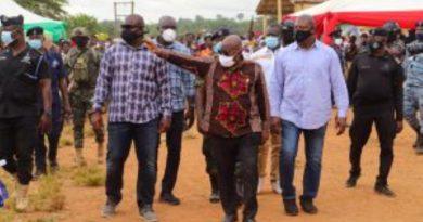 Akufo-Addo Commissions Community Mining Schemes In Western Region