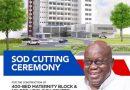 Akufo-Addo Cuts Sod For €145m 400-bed Maternity Block At Korle Bu