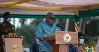 Akufo-Addo Cuts Sod For Waste Treatment Facilities In Western Region