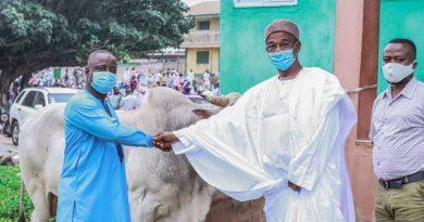 Eid-Ul-Adha: Kumasi Central Mosque Receives Donation From SUNDA International
