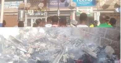 Fire Destroys Wares At Tarkwa Railway Station