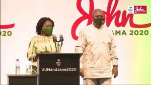Mahama Introduces Jane Naana To Christian Council, Chief Imam Today