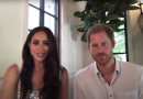 Meghan Markle and Prince Harry Make First Appearance Together in Their New Montecito Home