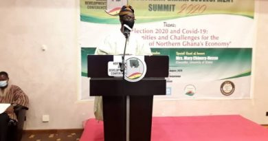 Northerners Can Carry Out Their Own Development – Mrs Chinery-Hesse