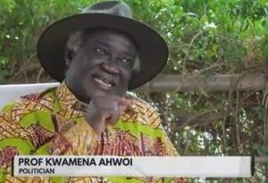 Rawlings Was Not Ready To Leave Power – Prof Kwamena Ahwoi Asserts