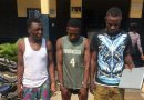 Three Suspected Armed Robbers Busted With Weapons At Abeka Junction