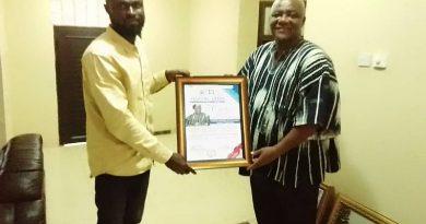 UENR TESCON Honours Francis Addai-Nimoh