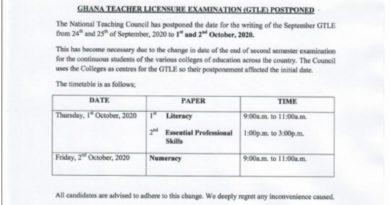 Education Authorities Postpone Teacher Licensure Exams