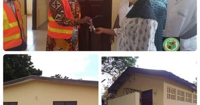 GEMA MCE Hands Over New ICU And Washroom Facility To Abokobi Health Centre