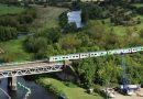 Hydrogen-powered train makes UK maiden journey