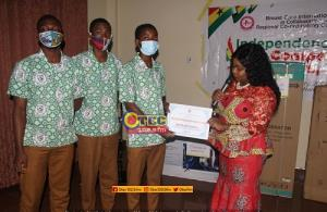 Kumasi: Winners Of 2020 Independence Day Quiz Receive Their Prizes