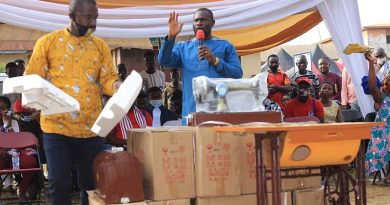 NPP's John Kumah Donates 40 Set Of Sewing Machines To Tailors And Dressmakers Association