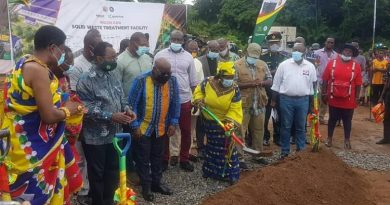 Sanitation Minister Tours Bono East Region