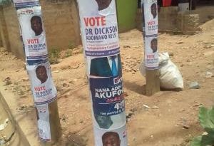 Tension In Anyaa-Sowutuom NPP As Bawumia's Face Covered In 2020 Posters [Video]