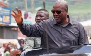 Vote For Me Again To Correct My Wrongs– Mahama To Ghanaians
