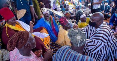 We Have Peace And Development Under Nana Addo, We Are Grateful -Zabzugu Chief