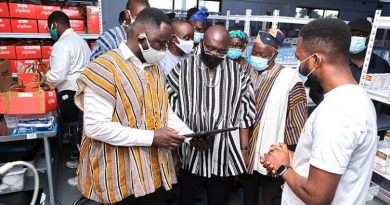 West Mamprusi: Dr. Bawumia Commissions 3rd Medical Drone Center Of Zipline At Vobsi