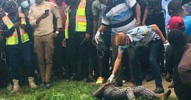 Woman Found Dead In A Gutter Near STC Head Office In Accra