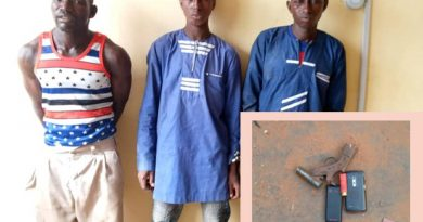 3 Arrested For Robbing Passengers At Wulugu