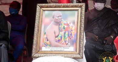 Akufo-Addo Visits Family Of Slain Mfantseman MP