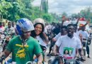 Another NDC MP Rides Okada To Submit Nomination Forms To EC