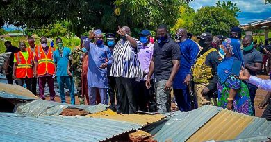 Bawumia Suspended Accra Campaign In Order To Commiserate With North East Flood Victims