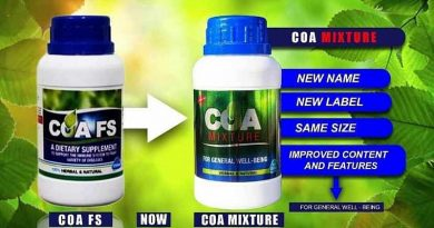 COA FS Bounces Back To The Market With COA Mixture