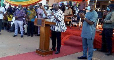 Dr. Bawumia Hints Of Atebubu-Amantin District Hospital