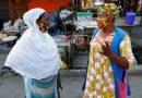 Koforidua Residents Throw Away Nose Masks
