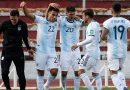 LIVE: Argentina face Bolivia test