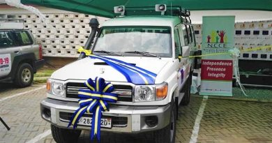 NCCE Takes Delivery Of Cinema Van Donated By The EU